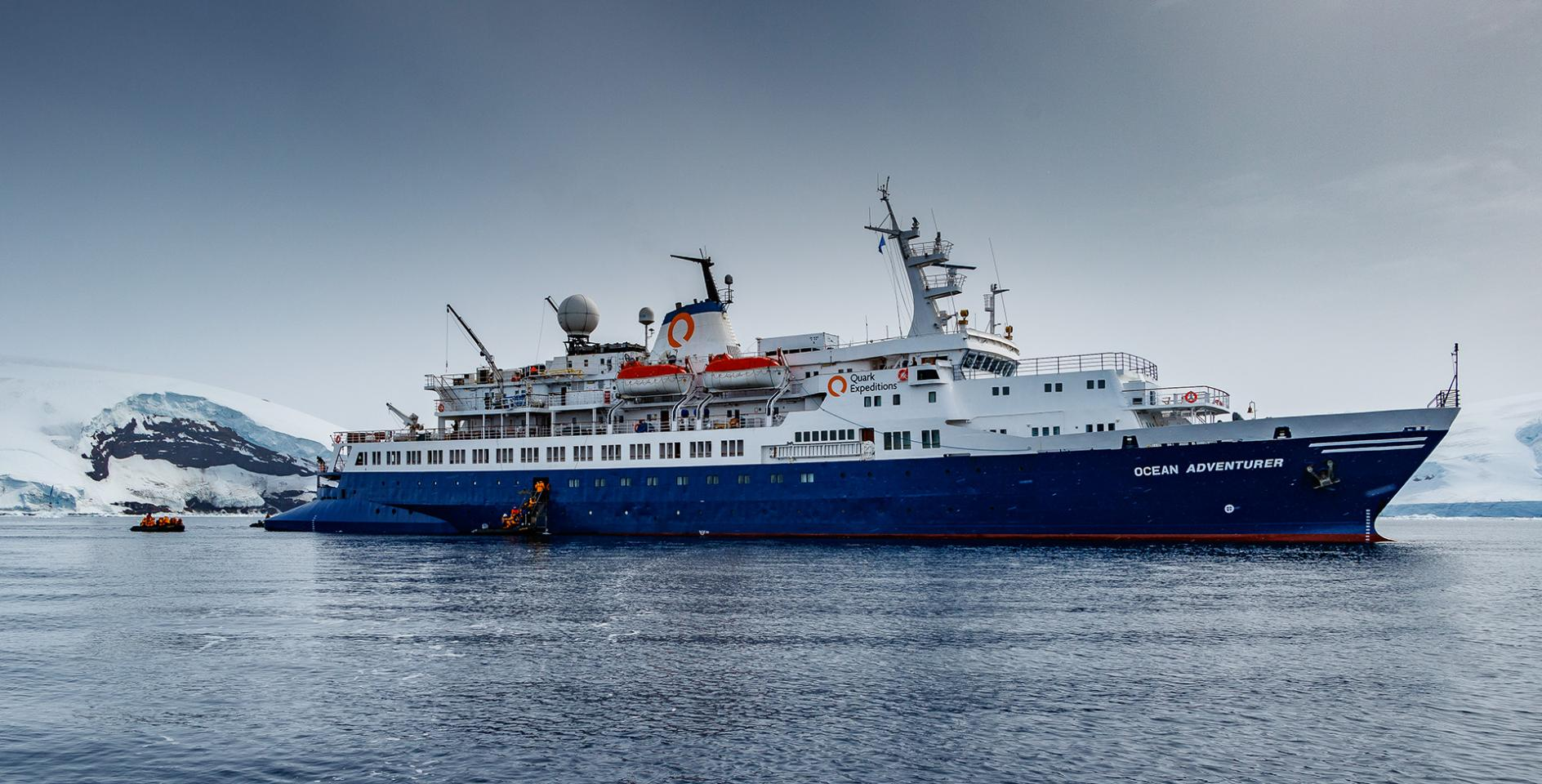 Ocean Adventurer in Antarctica